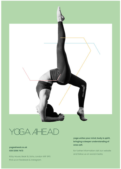 yoga-ahead-green-poster2